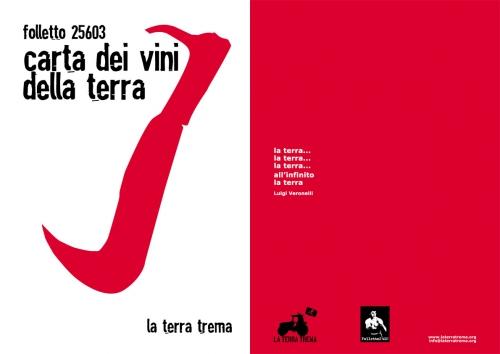 Cover della Carta dei Vini della Terra 2011 - Folletto 25603