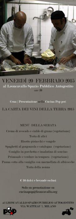 150220 presentazione Carta dei Vini Leoncavallo